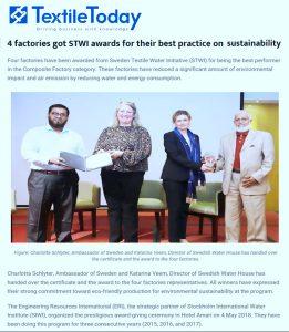 textiletoday (SIWI Award 2017)